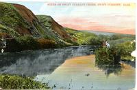 Scene on Swift Current Creek, Swift Current, Sask.