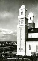Cathedral Gravelbourg, Sask. -195-