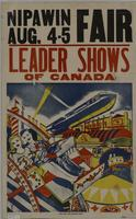 Leader Shows of Canada Nipawin Aug. 4-5 Fair poster
