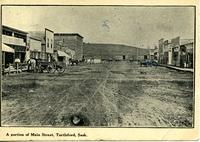 A Portion of Main Street, Turtleford, Sask.