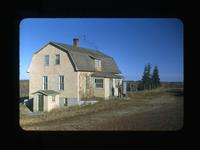Peter Kowalczyk House Made from Batoche House Logs S. of Fish Creek Sask. Oct.1-1948