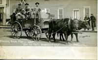 "Hanley, Sask May 1, 1907 ""Off To The Homestead"""
