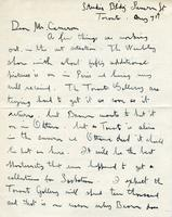 Letter from Alex Y. Jackson to Mr. Cameron, May 1st