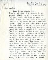 Letter from F. Horsman Varley to Mr. Cameron June 29th 28