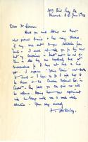 Letter from F.H. Varley to Mr. Cameron, June 3rd 28.