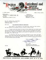 Letter from F.J. James to G.A. Bonney, September 24, 1948.