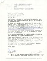 Letter from J.E. Climer to A.H. Rein, April 1st, 1971.