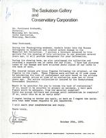 Letter from J.E. Climer to Dr. Ferdinand Eckhardt, October 20th, 1970