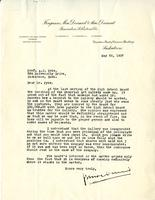 Letter from Ferguson MacDermid to A.J. Pyke, May 28, 1937.