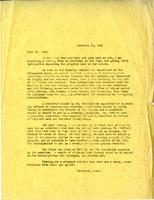 Letter from G.A. Bonney to Mr. Pyke, Dember 15, 1944.