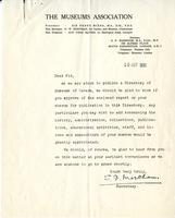 Letter from S.F. Markham to Sir, 15 October 1931