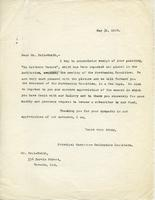 Letter from A.J. Pyke to F.M. Bell-Smith, May 31, 1920