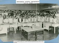 Household Science Department S.C.I. 1918