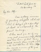 Letter from W. Greason to Alf, June 18, 1919