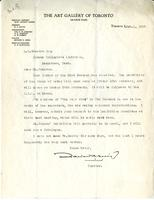 Letter from Edward Greig to A.W. Cameron, February 1, 1928