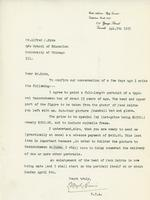 Letter from E. Wily Grier to Mr. Alfred J. Pyke, Apl. 5th, 1923