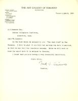 Letter from Fred. S. Haines to A.W. Cameron, Apr. 2, 1928