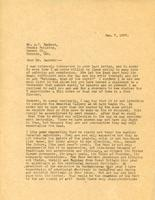 Letter from Principal to Mr. A.Y. Jackson, Jan. 7, 1927