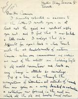 Letter from Alex Y. Jackson to Mr. Cameron