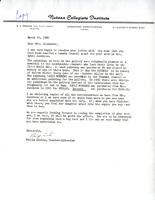 Letter from Philip Listoe to Mrs. Alexander, March 25, 1982