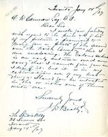 Letter from J.W. Beatty to A.W. Cameron, January 27, 1927