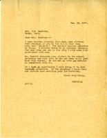 Letter from AWC to Mrs. Jacobson, Jan. 18, 1927.