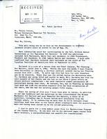 Letter from Mary Alexander to Mr. Philip Listoe, Nov. 3, 1981.