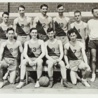 Cougars- Men`s Basketball - 1934 1934