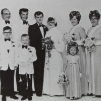 Wedding of Albert Daku and Rosanne Popow 1971