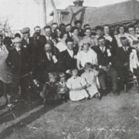 Wedding of Ferenc Elek and Ilonka Daku 1935