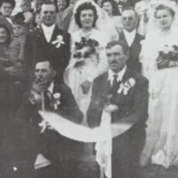 Vilmos Szakacs and Lujza Daku Wedding