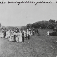 At the Hungarian Picnic 1920