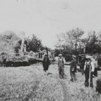Threshing 1922
