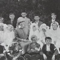 A First Communion Class Taught by the Sisters of the Social Services in Stockholm