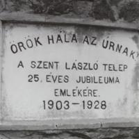 25th Jubilee Marker 1903-1928