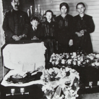 Barbara Kristoff's Funeral Early 1920's