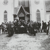 A funeral (Connected with the Aron Beres Family) June 24, 1936