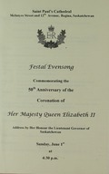 Festal Evensong Commemorating the 50th Annivwesary of the Coronation of Her Majesty Queen Elizabeth II