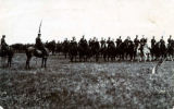 Light Horse Regiment on horseback