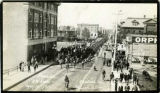 """Parade 53 Batt May 19 1915 Central Ave Prince Albert Sask"""