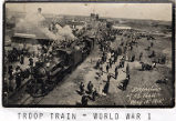 E 247 Troop Train  WWI