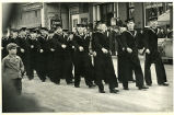 E 860 Sea Cadet parade