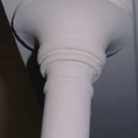 Convocation Hall - Column under Balcony, West End of Hall