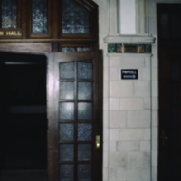 College Building Ground Floor - Entrance to Convocation Hall