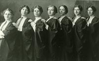 Women Graduands during the University of Saskatchewan Convocation