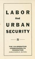 Labour and Urban Security