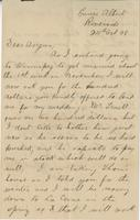 Letter to Angus McKay from Joseph McKay