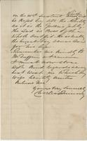 Letter to Angus McKay from Charles Quinney
