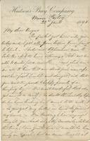 Letter to Angus McKay from J. Fortescue