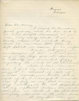 Soldiers' Letters to W. C. Murray : Spencer Ball, Feb 10, 1918